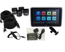 "Vision Works 10"" HD Touch Screen Monitor & 4 Camera System 