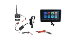 "Vision Works 10"" Digital Wireless Camera System with TouchScreen Monitor 