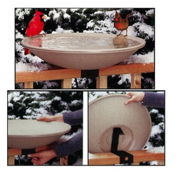 Allied Heated EZ-Tilt-To-Clean Deck Mount Bath | API650
