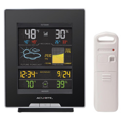 Acurite Color Weather Station with Home Weather Tracker | 02008a2