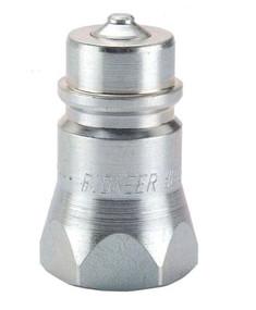 Parker Coupler Nipple, 3/4-14, 1/2 In. Body, Steel    8010-5P
