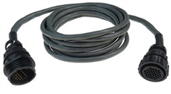 Sensor-1 10FT Ext. Cable w. 37 Pin AMP Connector, 12 Row | EXT37A10-12