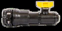 "Hypro 1"" Express End Cap (10 mm stem) w. Flush Valve | BG-7433-3321"