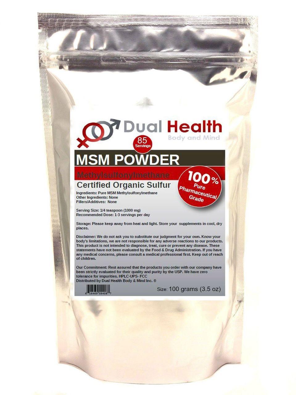 Pure MSM (Methylsulfonylmethane) Powder