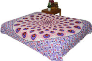 Hippie Red Purple Mandala Tapestry Bohemian Wall Hanging Throw Dorm Decor