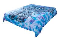 Hippie Tie-Dye Elephant Mandala Tapestry Bohemian Wall Hanging Dorm Decor