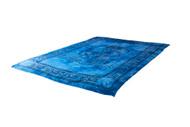Twin Ganesha Blue Mandala Tapestry Bohemian Wall Hanging Throw Dorm Decor