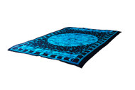 Twin Blue Sun Sign Mandala Tapestry Bohemian Wall Hanging Throw Dorm Decor