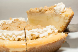 Apple Crumb Cheesecake