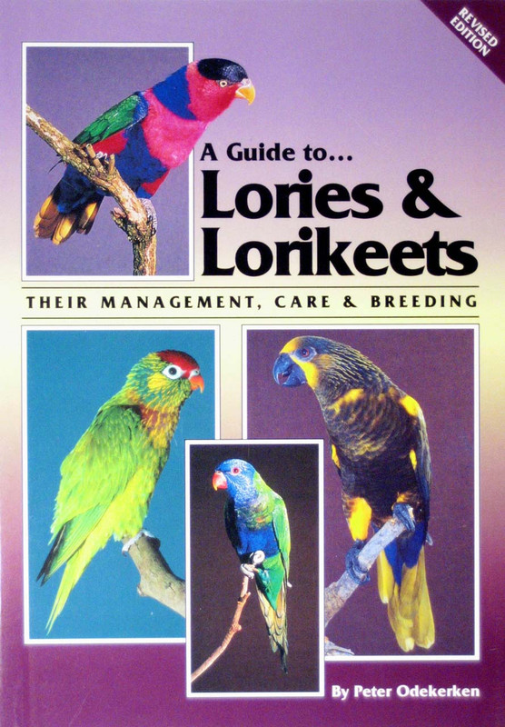 Cover of the book: ABK Lories and Lorikeets