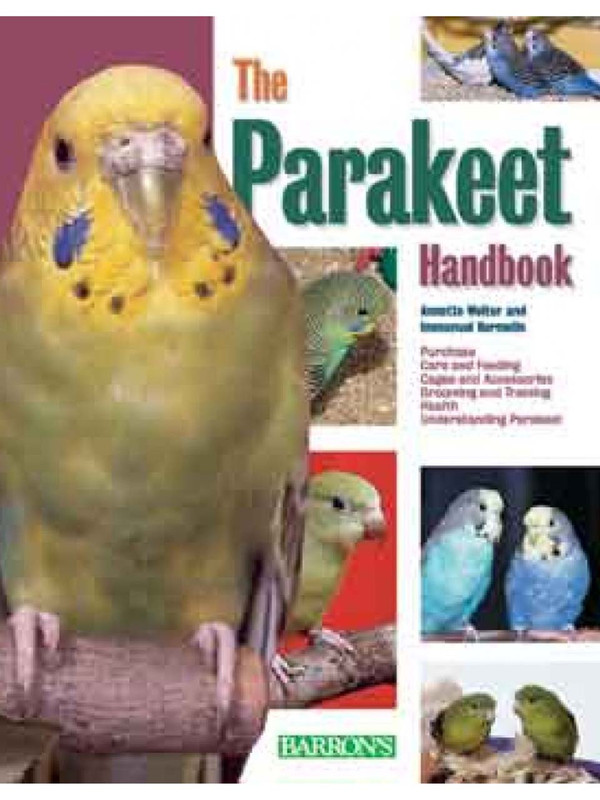 Cover of the book: The Parakeet Handbook
