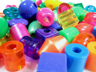 Mix of the different Jumbo Bead Finishes; Pear, Opaque & Translucent