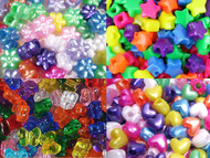 All the different Pony Shapes available: Hearts, Stars, Flowers & Butterfiles