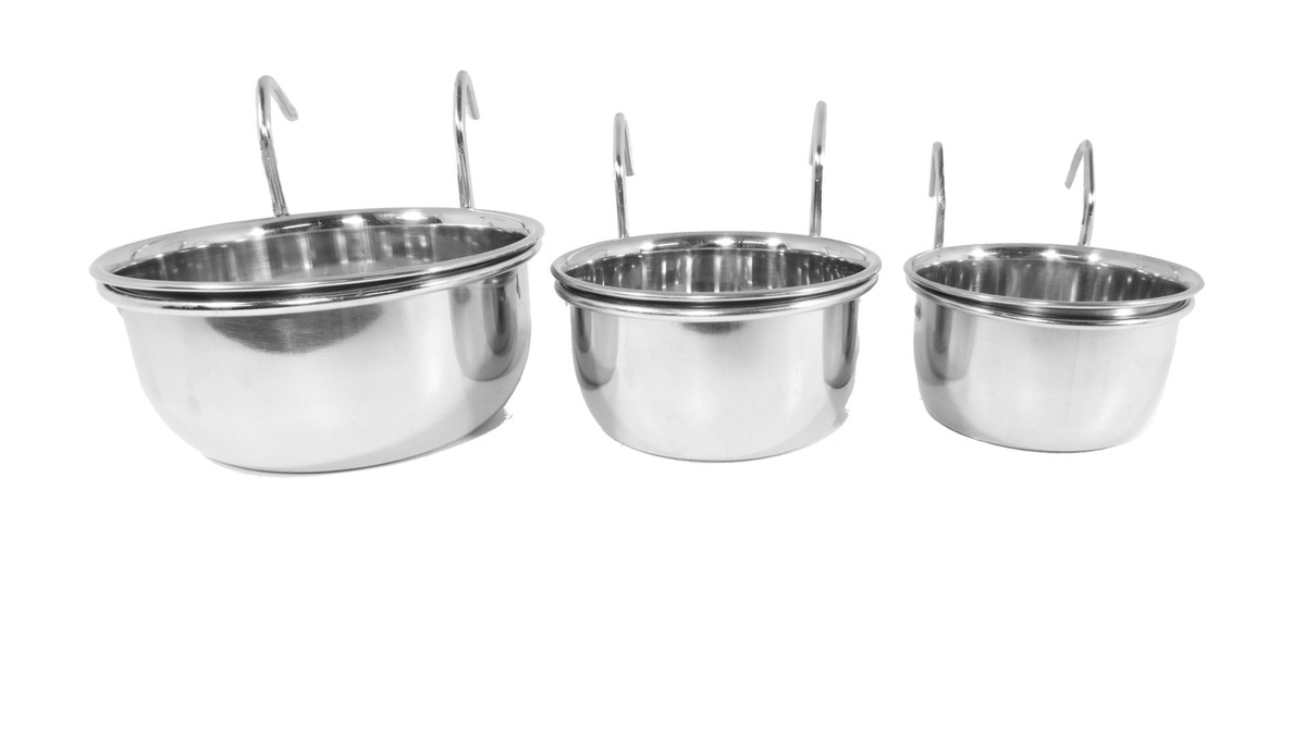 Stainless Steel Coop Cups - 3 sizes