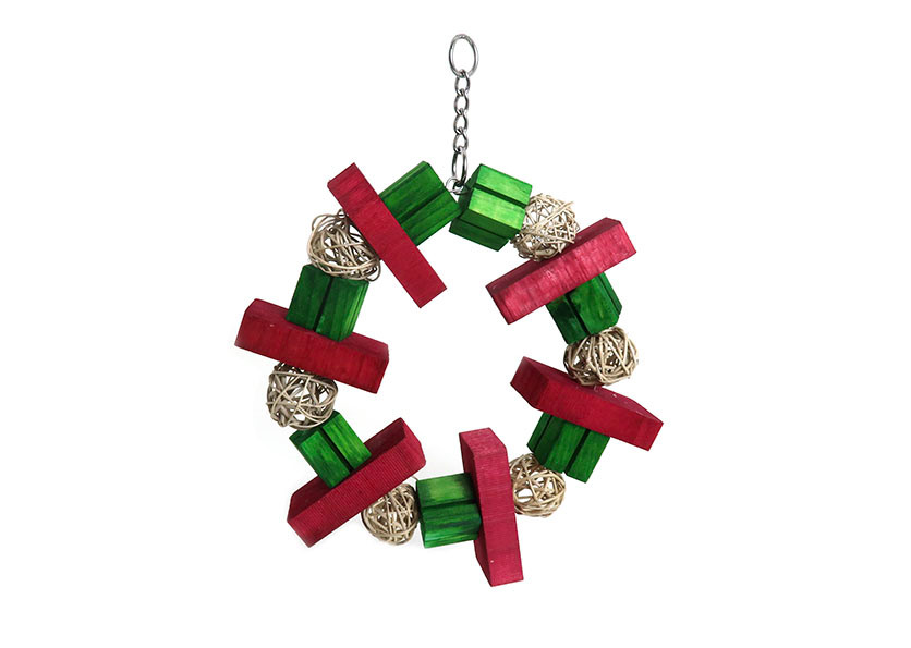 Christmas Wreath hanging toy