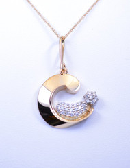 Luxury Diamond Pave Baby Parent and Child
