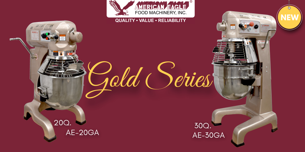 New Gold Series Planetary Mixers