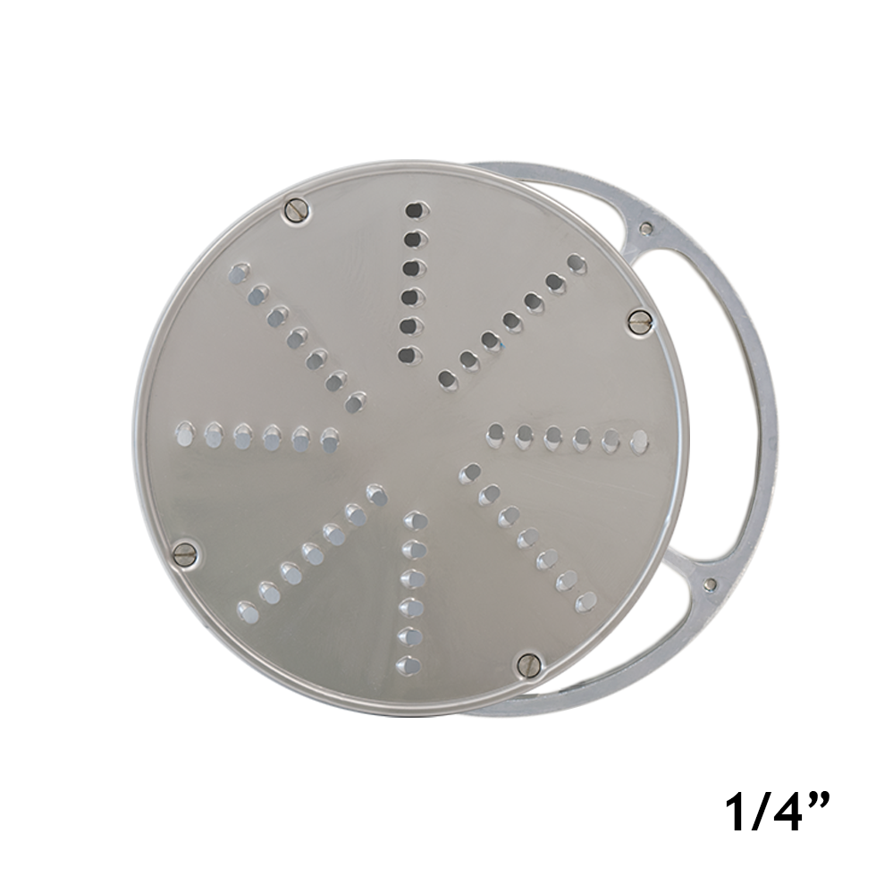 American Eagle Food Machinery 1/4 inch Stainless Steel Vegetable Shredding Disk with Aluminum Holder, AE-V12/S-1/4