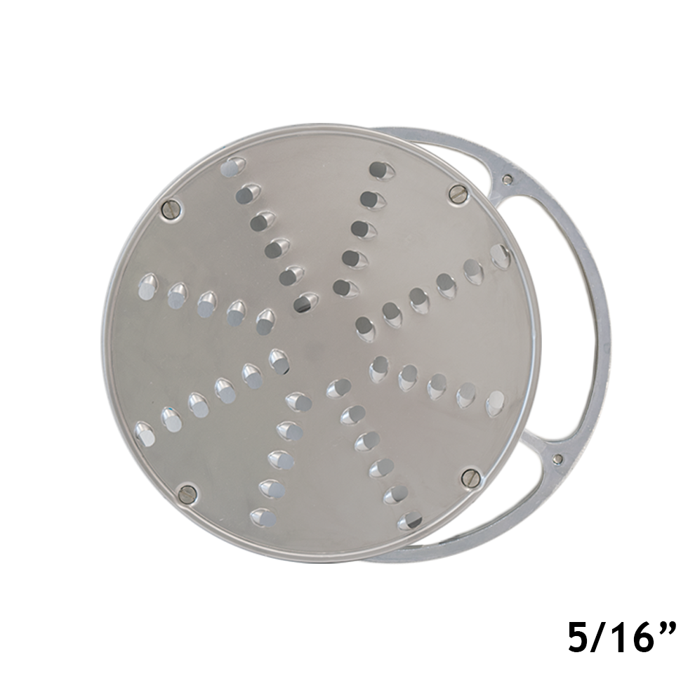 American Eagle Food Machinery 5/16 inch Stainless Steel Vegetable Shredding Disk with Aluminum Holder, AE-V12/S-5/16
