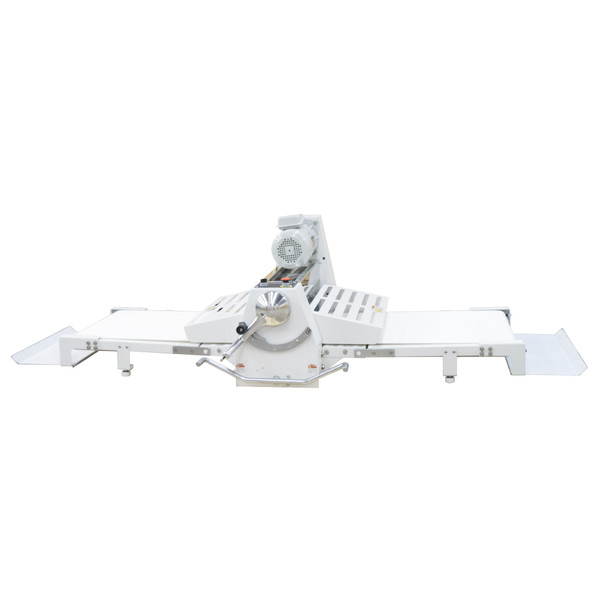 """American Eagle Food Machinery Elite Series Commercial Dough Sheeter, Bench Type 17.75""""W x 71""""L, 220V/1Ph/1/2HP, AE-DSE45B - Front"""
