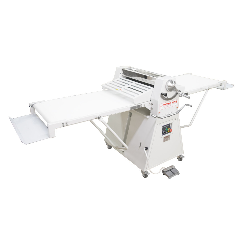 """American Eagle Food Machinery Elite Series Commercial Dough Sheeter, Floor Type 25.5""""W x 98.5""""L, 220V/1Ph/1HP, AE-DSE65"""