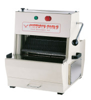 American Eagle Food Machinery Electric Bread Slicer with Start/Stop Control, 1/3HP, AE-BS02