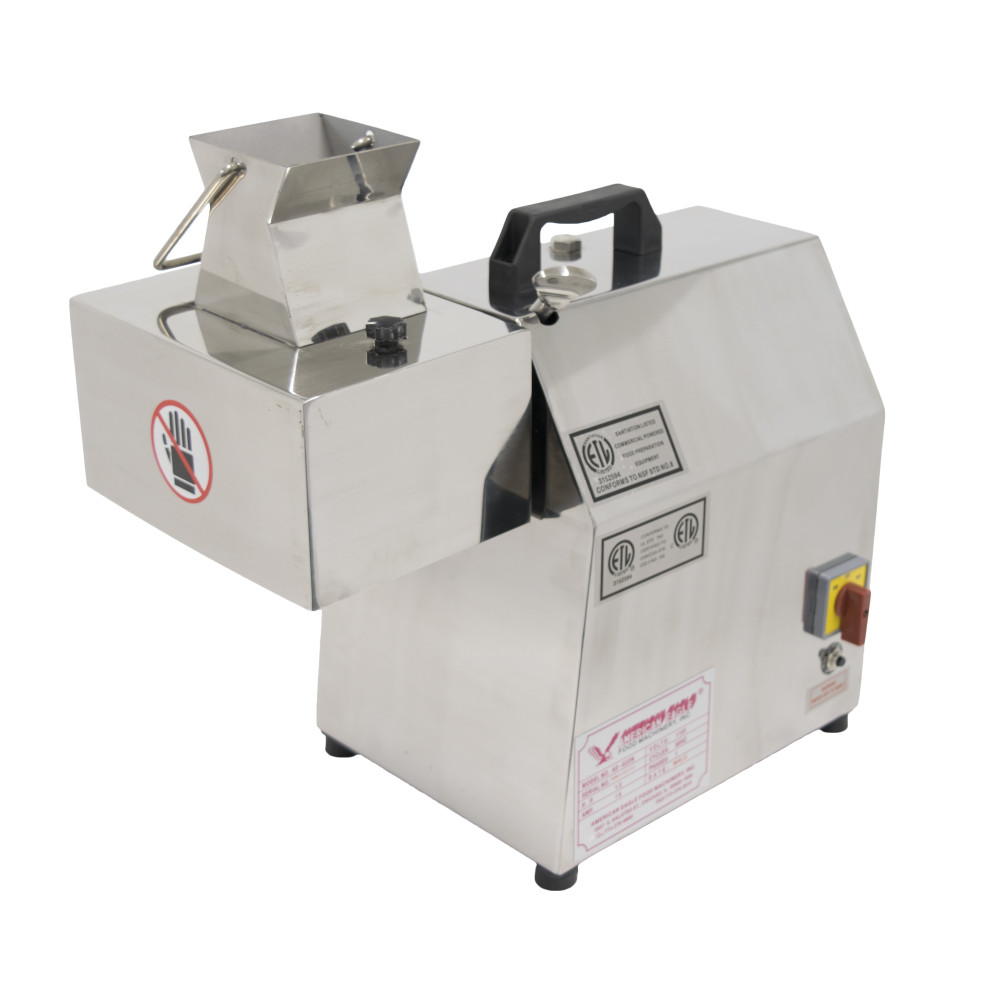 American Eagle Food Machinery Stainless Steel, 1.5HP Commercial Electric Meat Cutter Kit, AE-MC22N
