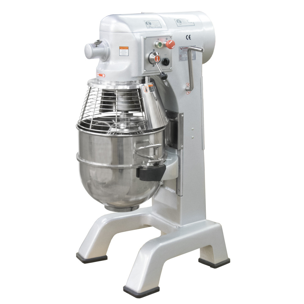 American Eagle Food Machinery 40 Qt Planetary Mixer with Safety Guard, 1.5HP, 3 Speeds, AE-40PA - Guard Closed