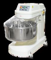 AE-125K Spiral Mixer 250qt Bowl, Cap.275 lbs Flour 396 lbs Dough 15Hp Agitator 5Hp Bowl. Special Order.