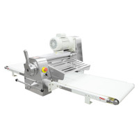 "American Eagle Food Machinery Commercial Dough Sheeter, Bench Type 17.75""W x 71""L, 220V/1Ph/1/2HP, AE-DS45B - Side"