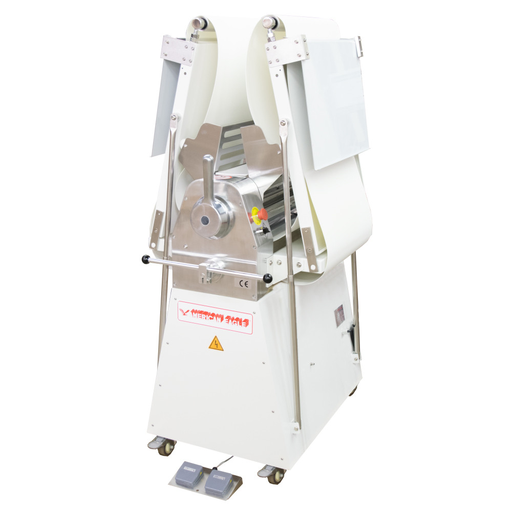 """American Eagle Food Machinery Commercial Dough Sheeter, Floor Type 20.5""""W x 82.75""""L, 220V/1Ph/1/2HP, AE-DS52 - Closed"""