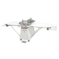 "American Eagle Food Machinery Commercial Dough Sheeter, Floor Type 25.5""W x 118""L, 220V/1Ph/1HP, AE-DS65L - Open"