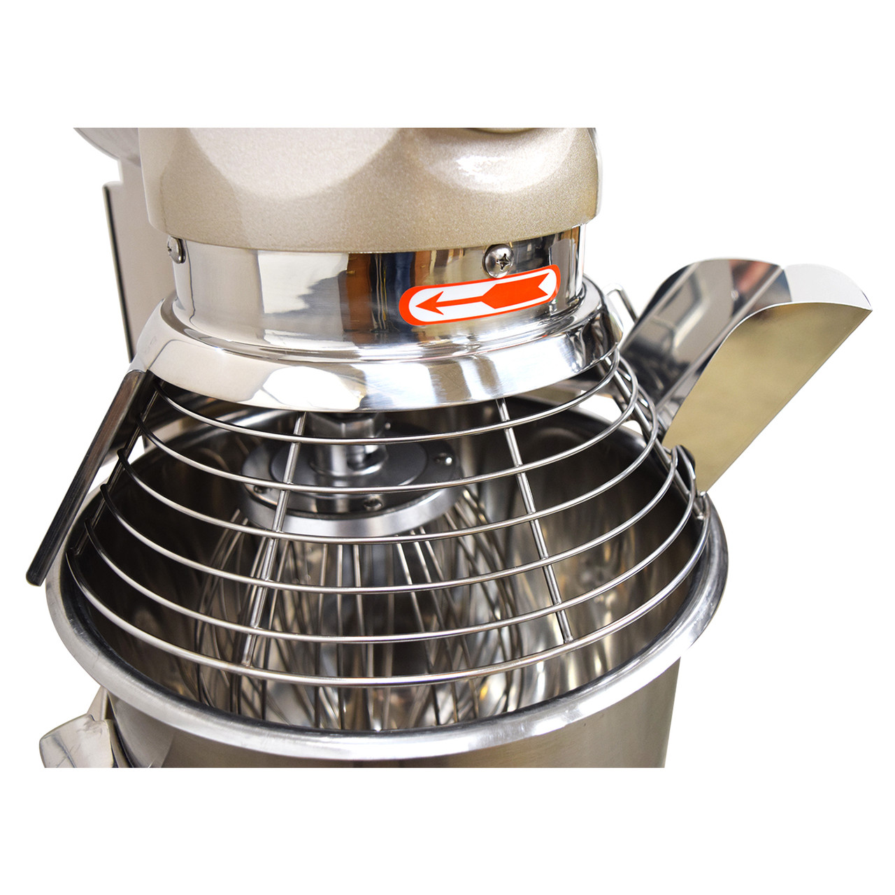 AE-20GA 20 Quart Commercial Planetary Mixer Feeder Chute - Pour Ingredients While Mixing