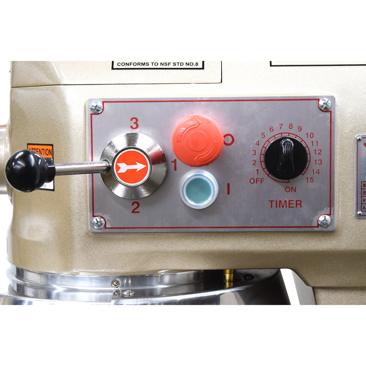AE-30GA 30 Quart Commercial Planetary Mixer Standard Analog Timer