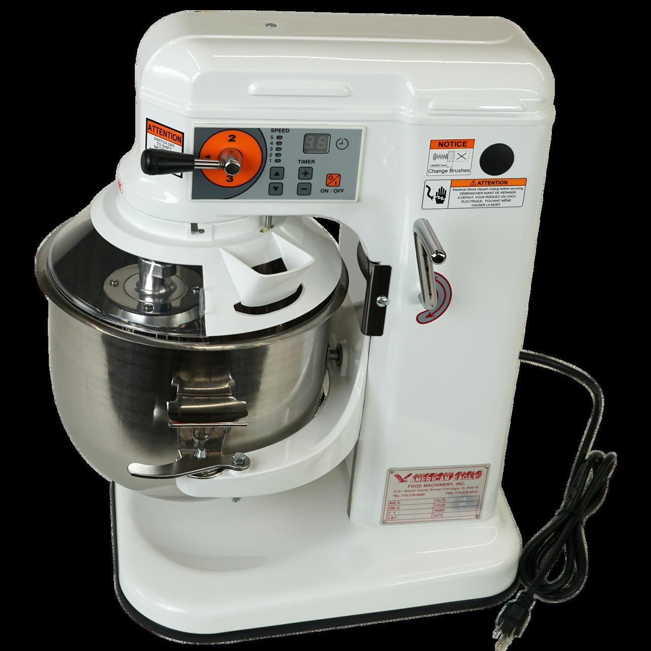 Power Cord, AE-10DCA 10 Quart Countertop Planetary Mixer, Commercial Mixer