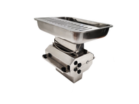 AE-GMC22NH Large Capacity Meat Cutter Attachment Stainless Steel Fits #12 Hub
