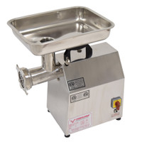 American Eagle Food Machinery #22 Commercial Meat Grinder, 1.5HP, Stainless Steel, AE-G22N