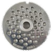 American Eagle Food Machinery #22 Meat Grinder Plate, 6mm, 1/4 inch, AE-G22N/06-06
