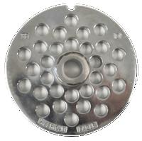American Eagle Food Machinery #22 Meat Grinder Plate, 8mm, 5/16 inch, AE-G22N/06-08
