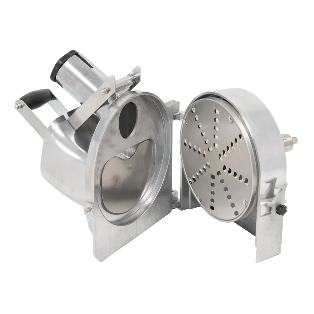 American Eagle Food Machine 1.5HP Vegetable Cutter Kit with Stainless Steel Motor Unit, AE-GV22 - Open