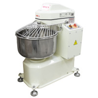 American Eagle Food Machinery 40 Qt Spiral Dough Mixer, 26lbs Flour/44lbs Dough Capacity, 1.5HP, AE-1220 - Closed