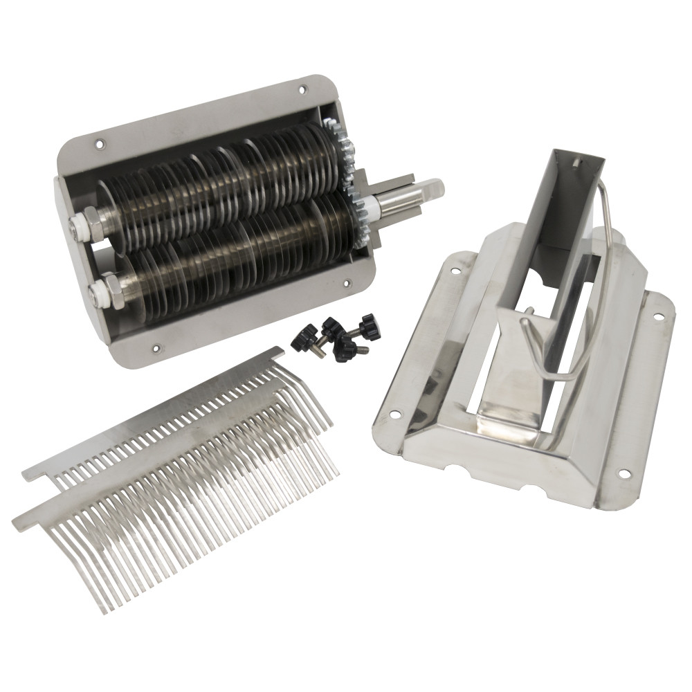 American Eagle Machinery Jerky Cutter Attachment, Stainless Steel, AE-JS12H - Disassembled