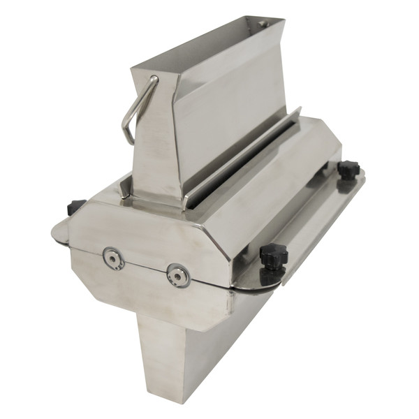 American Eagle Food Machinery Commercial Meat Tenderizer and Jerky Slicer Attachment, #12 Hub, Stainless Steel, AE-TS12H
