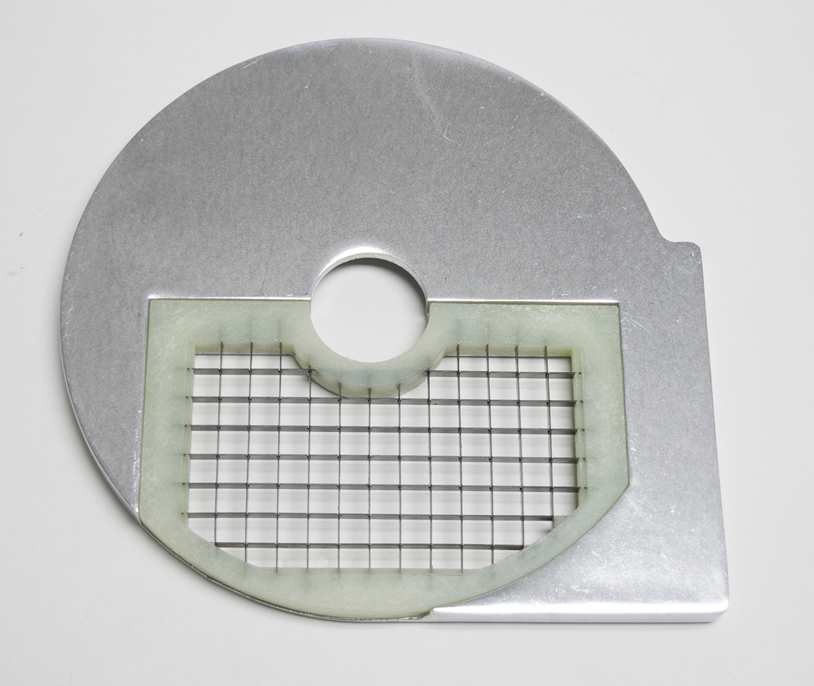 American Eagle Food Machinery 10x10mm Bottom Vegetable Slicing Plate, AE-VC30/D10