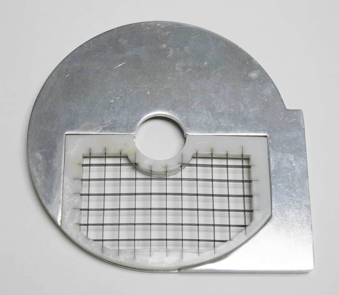 American Eagle Food Machinery 12x12mm Bottom Vegetable Slicing Plate, AE-VC30/D12