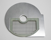 American Eagle Food Machinery 8x8mm Bottom Vegetable Slicing Plate, AE-VC30/D8