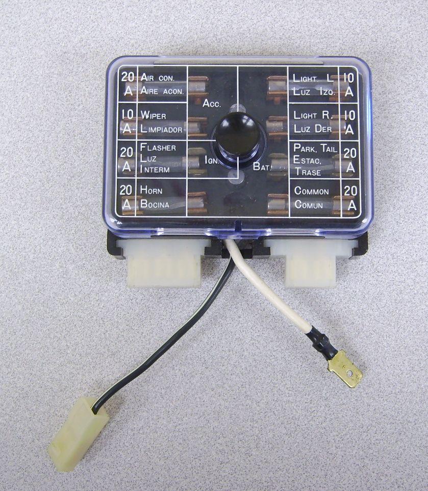 Datsun 510 Fuse Box Wiring Diagram Data Lincoln Continental 70 71 2 Wire Feed 25410 A4901 A8610