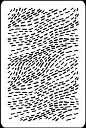 Sprinkles Flow Stencil