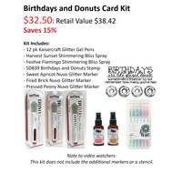 Birthdays and Donuts Spray and Stamp Bundle