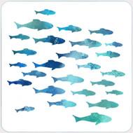 Shark Week Stencil